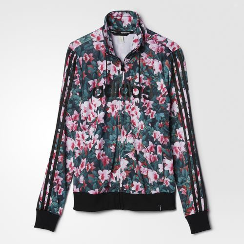 adidas - Women's Floral Printed Track Jacket