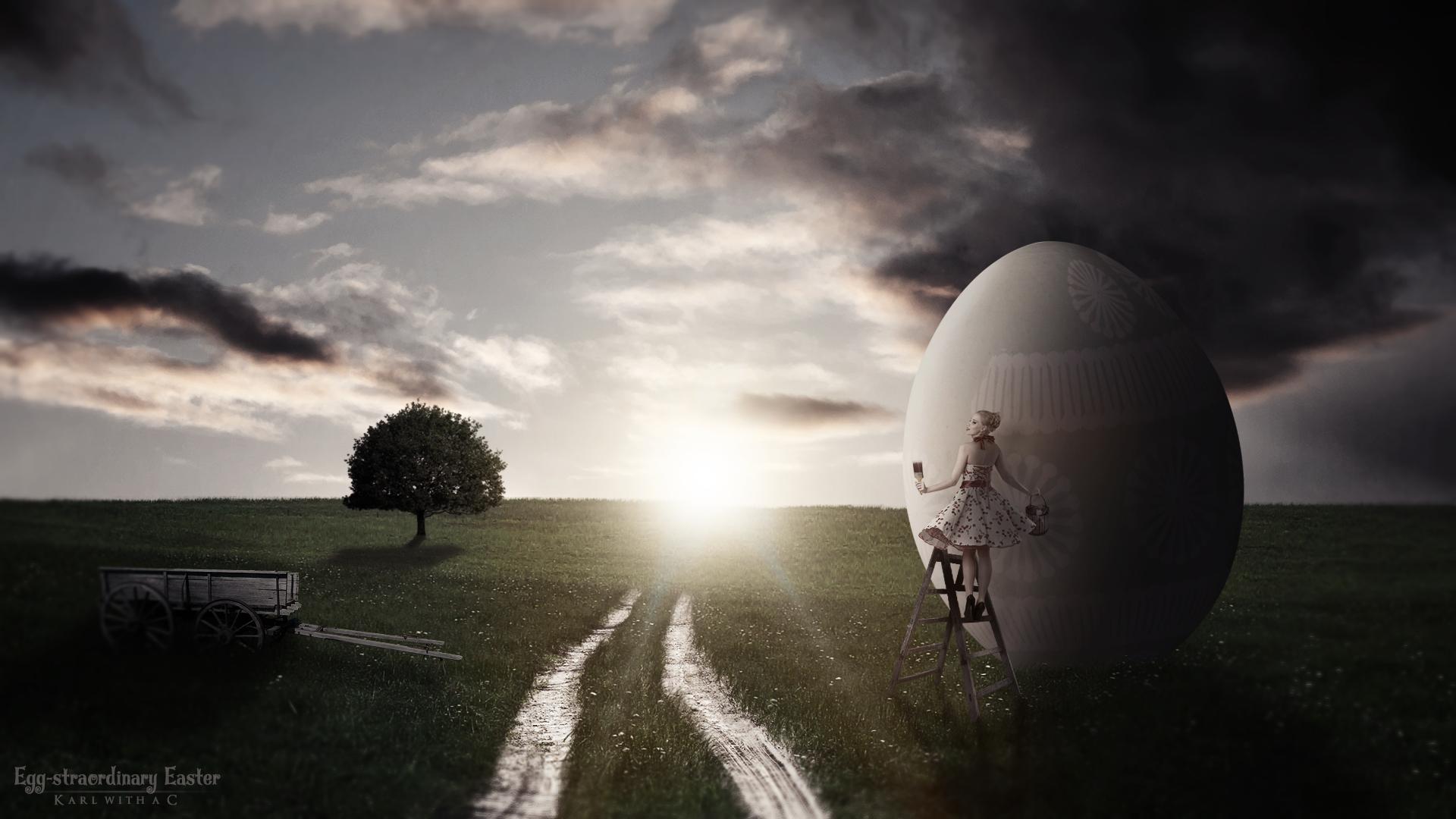 Egg-straordinary Easter by Karl-with-a-C.deviantart.com on @DeviantArt