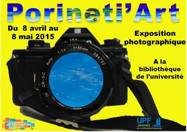 © Université de Polynésie Française Journées des arts et de la culture dans l'enseignement supérieur