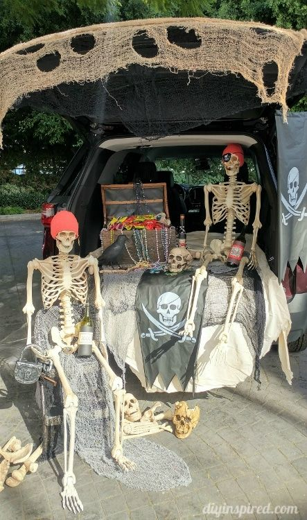 3 Awesome Trunk or Treat Ideas - DIY Inspired