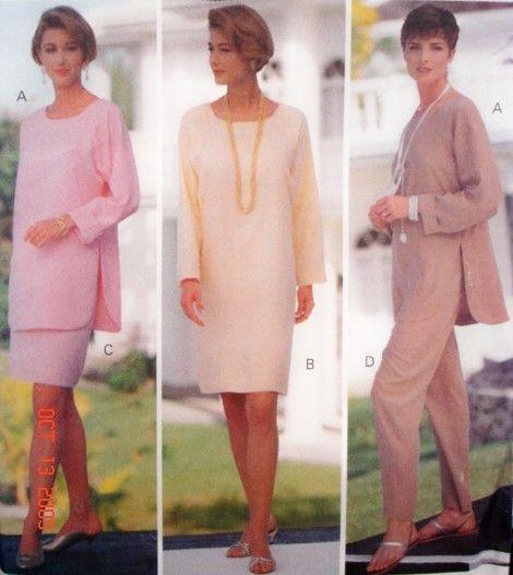 Vintage tunic pattern