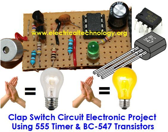 Clap Switch is a basic Electronics mini-project, made from the basic ...