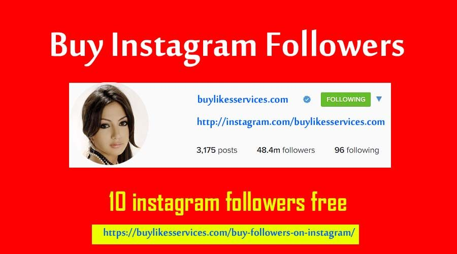 Buy Followers On Instagram Right Now - Buylikesservices com