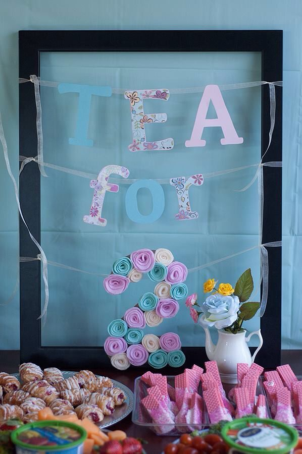 Tea For Two Second Birthday Party Decorations 2nd Birthday