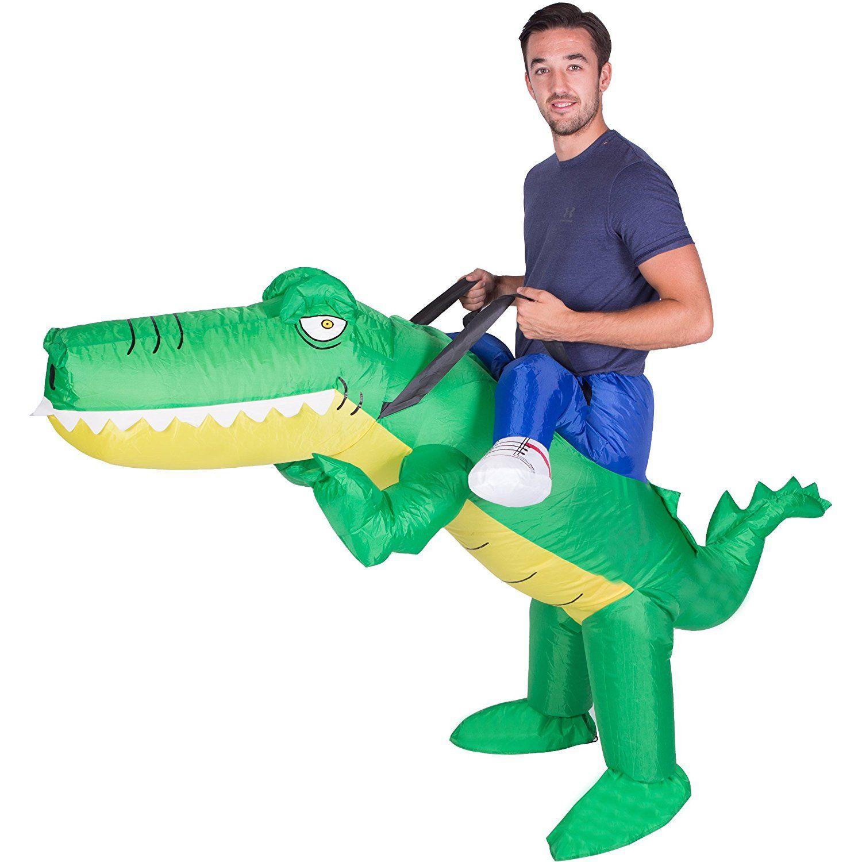 Aufblasbares erwachsenenkost m krokodil for Aussenpool aufblasbar