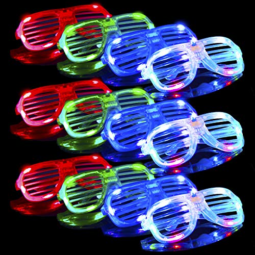 Birthday New Year Disco Supplies Glow in the Dark Necklace /& Bracelet 800 PCs Glow Sticks Bulk Colorful Neon for Glowstick Party Favors Camping Accessories.