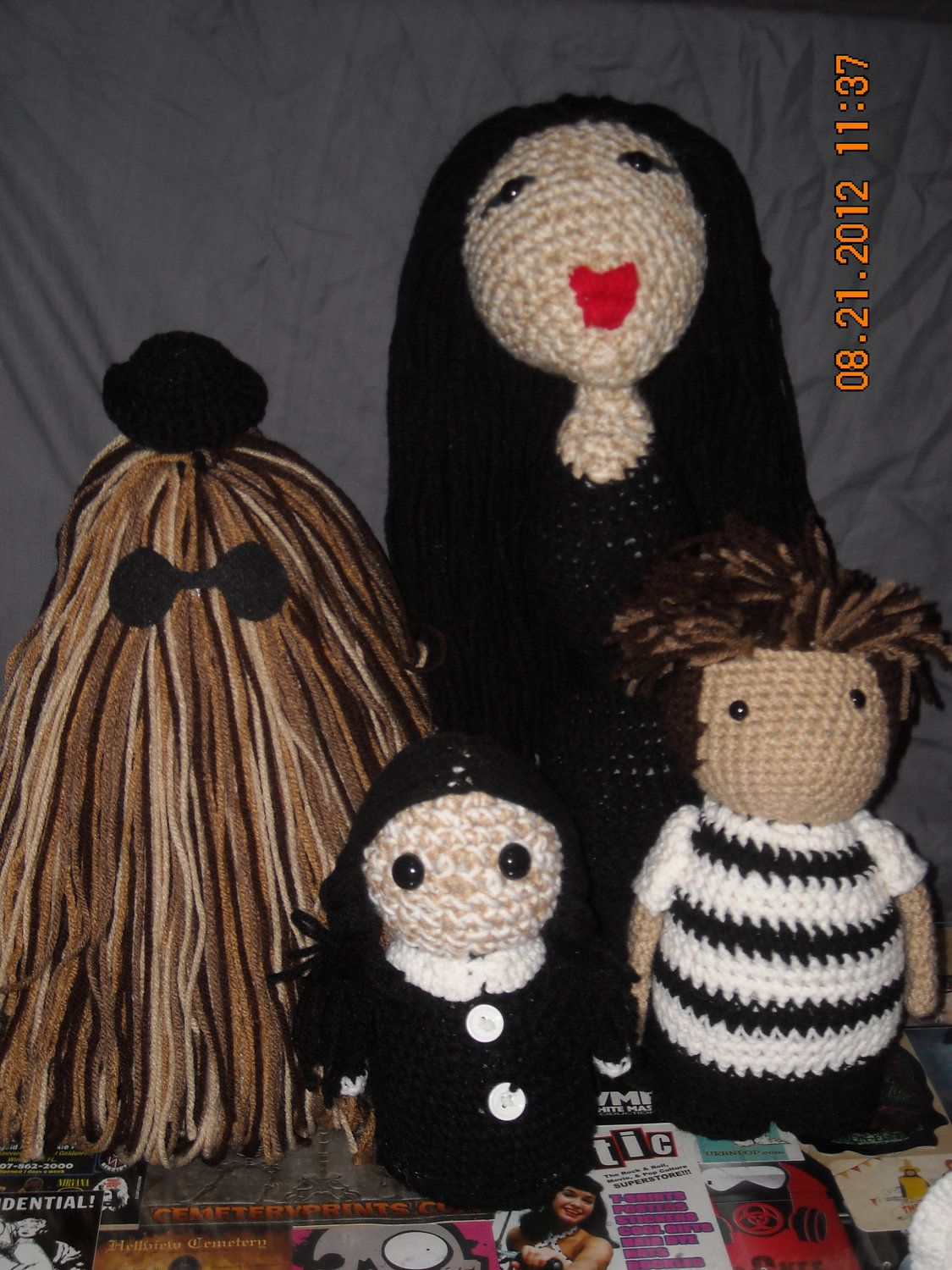 Addams family i should have been an addams pinterest crochet addams family gothic babythe addams familycrochet bankloansurffo Images