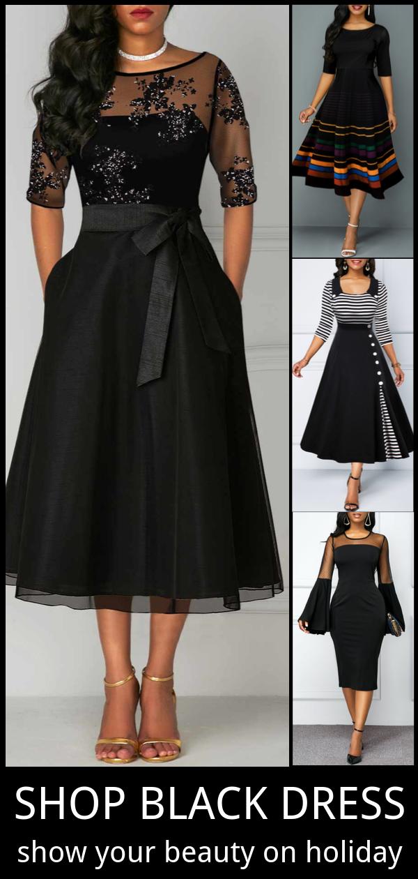 Little Black Dresses For Holiday