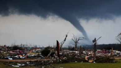 """There are multiple challenges to building a society that is more resilient to tornadoes and other severe storms. When it comes to thunderstorm-related hazards, an hour or less is the """"warning"""" timescale with longer periods of times considered forecasts."""