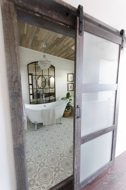 Eleven Stunning Bathroom Transformations Modern Farmhouse Bathroom - Bathroom transformations