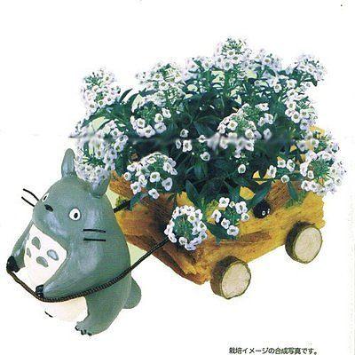 My Neighbor Totoro FIGURE Mini PLANTER Studio Ghibli from JAPAN