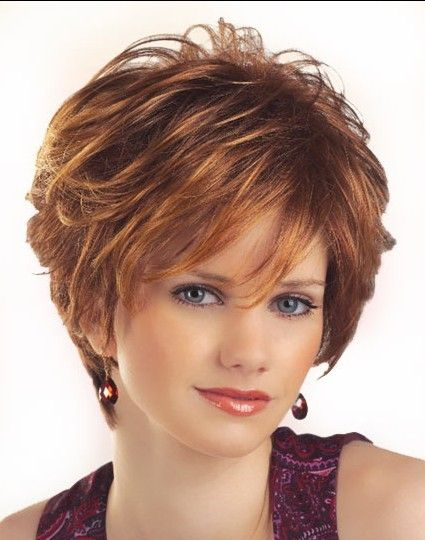 Brown Layered Curly African American Wigs CDMD002                              …