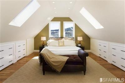 Great Design For Sloped Ceilings Or A Frame Rooms Remodel