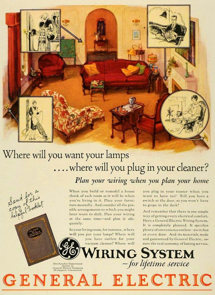 General Electric 1928 General electric, Vintage