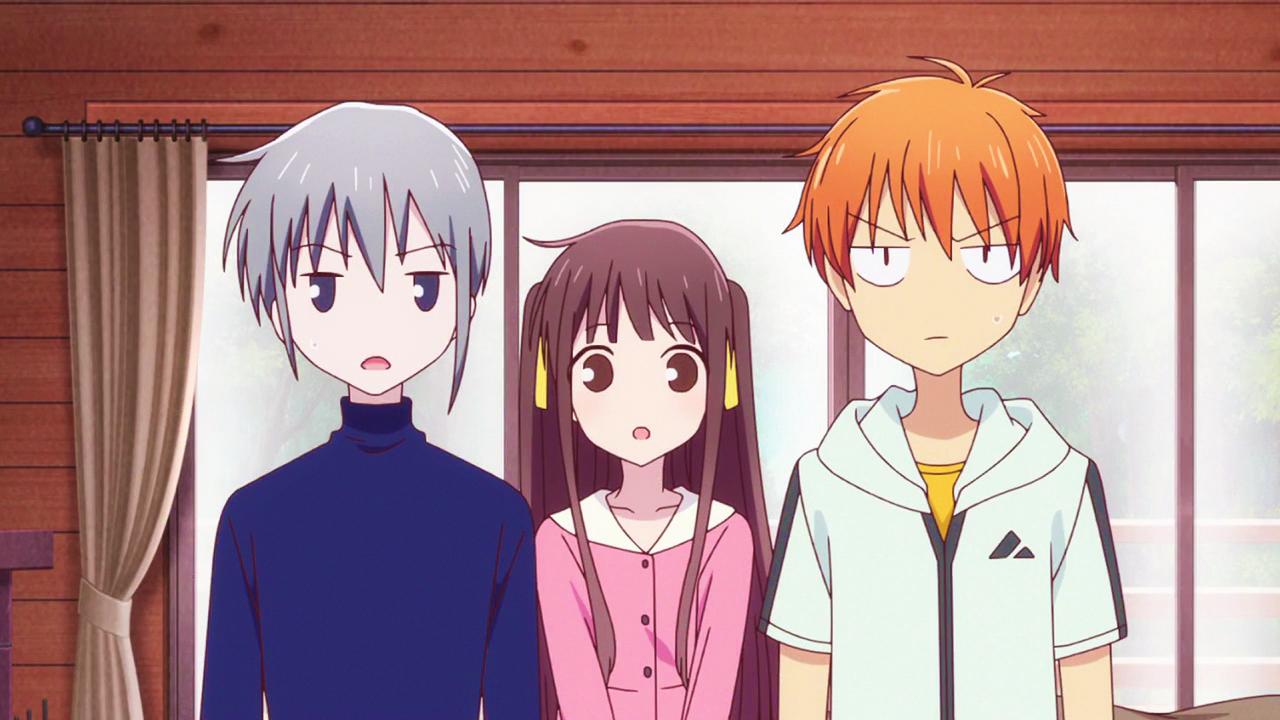 Épinglé par Joliefleur sur Fruits Basket Animé, Anime