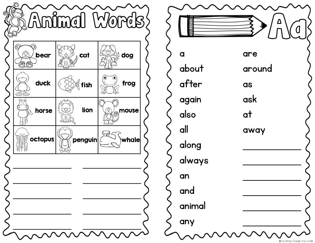 Interactive Spelling Dictionaries & Spelling Styles Freebie