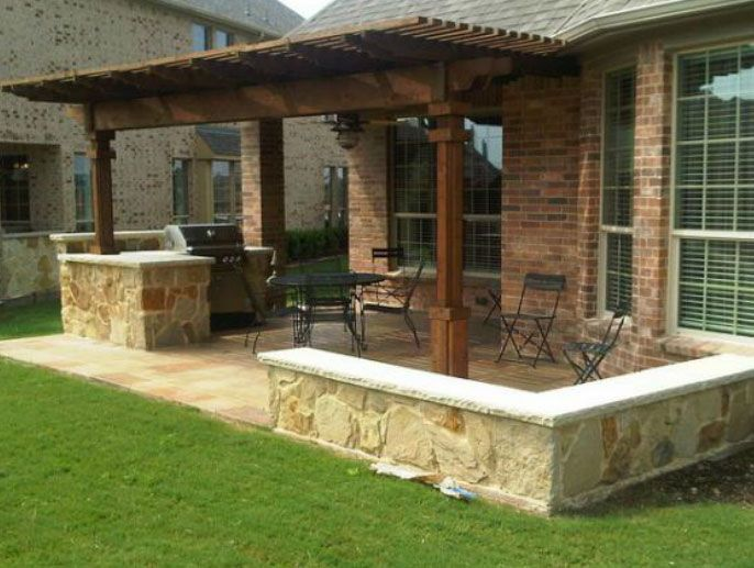 Photo Gallery Fences Gates Dallas Fort Worth Outdoor Kitchens Patios Texas In 2020 Outdoor Living Areas Outdoor Kitchen Design Backyard Patio