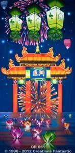 Backdrop OR061 Oriental Celebration Panel 7