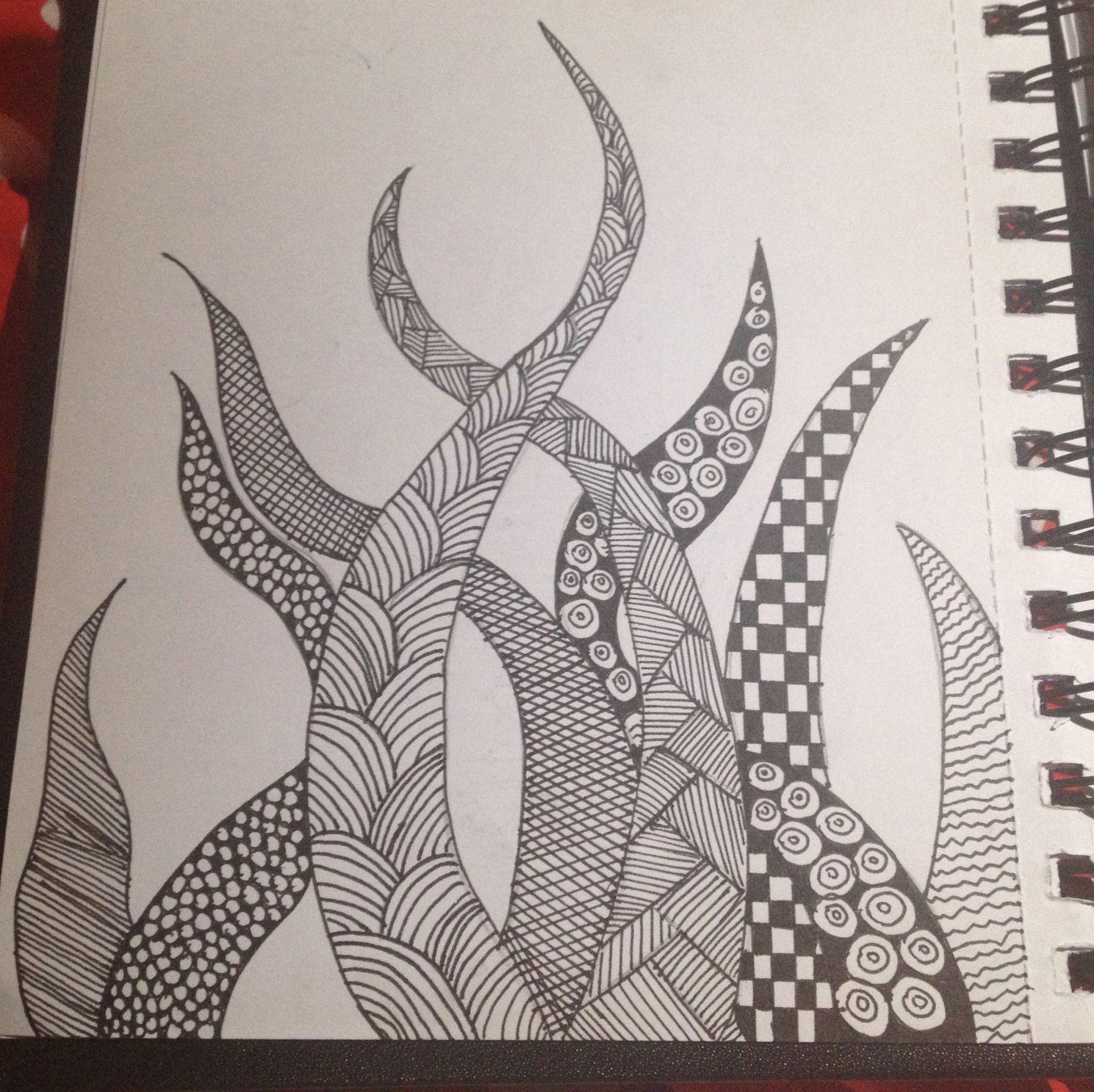 Zentangle Line Art Very Achievable Doodle Patterns Line Art