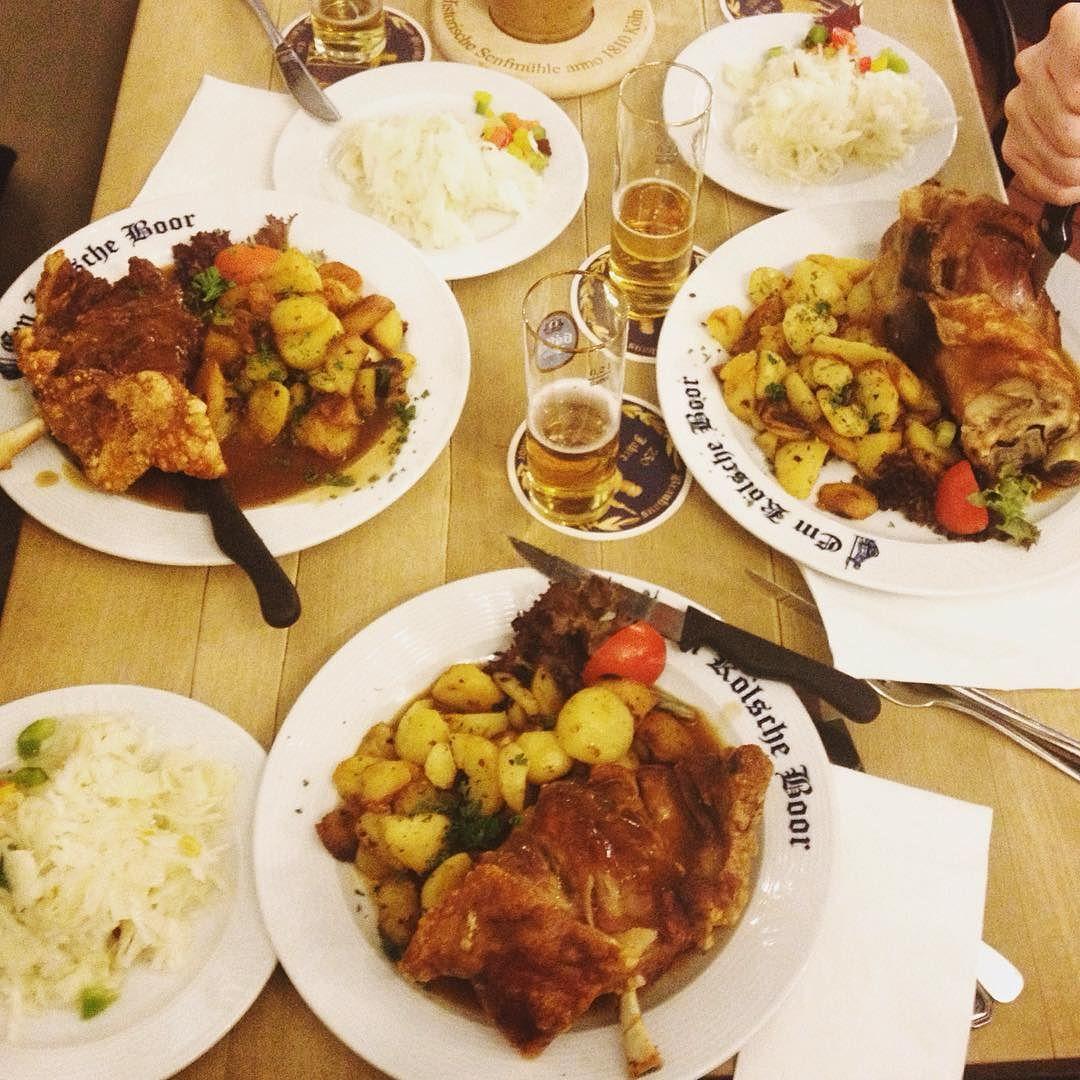 Köln by littlemermaider #haxenhaus #people #food