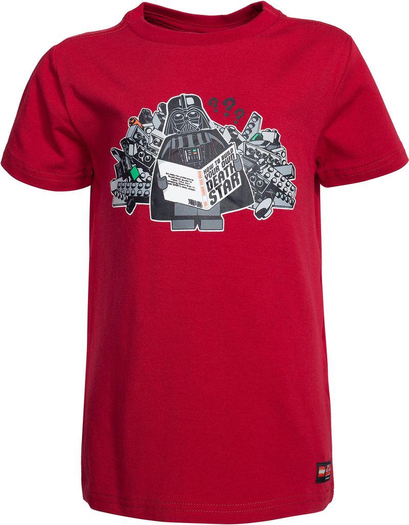 LEGO Wear, T-shirt, Star Wars, Timmy 650, Mørkerød - Klær - CDON.COM