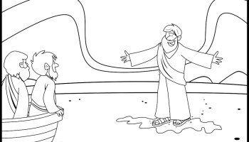 Lesson: Jesus Walks on Water (Matthew 14:22-33, Mark 6:45