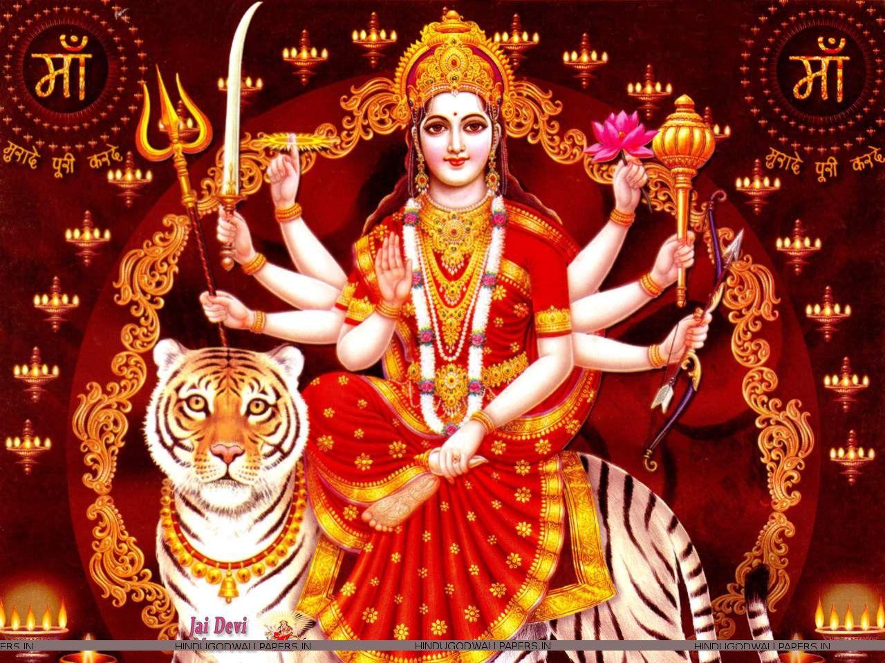 Free Download Unique Sherawali Mata Images God Wallpaper God