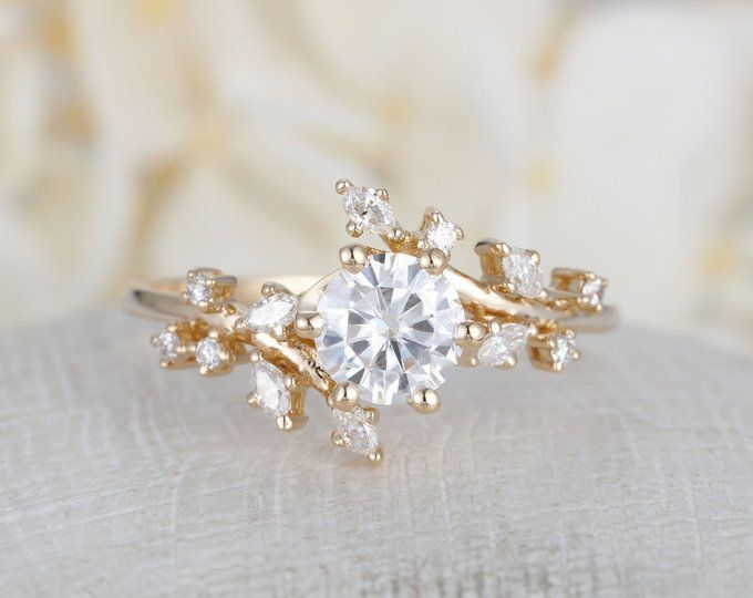 Rose Gold Diamond Rings Cheap