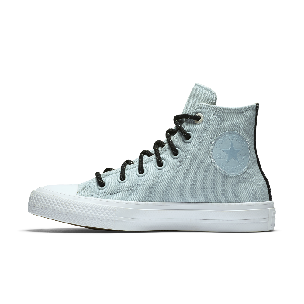 575a957f803230 Converse Chuck II Shield Canvas High Top Women s Shoe Size 6.5 (Blue) - Clearance  Sale