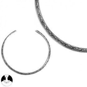 SG Paris Choker Antic Silver Argente Necklace Choker Metal Winter Women Ethno Glam Fashion Jewelry / Hair Accessories Z Others $9.28