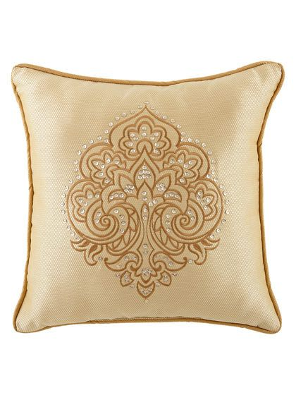 Sutton Square Pillow by Waterford at Gilt