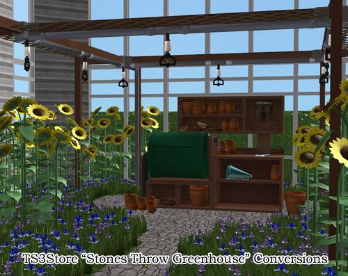 Crispsandkerosene Sims Stones Throw Greenhouse