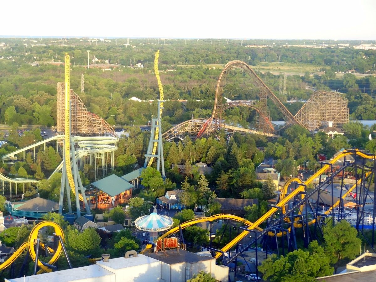 Trip Report Six Flags Great America July 2016 Coaster101 Great America Trip America