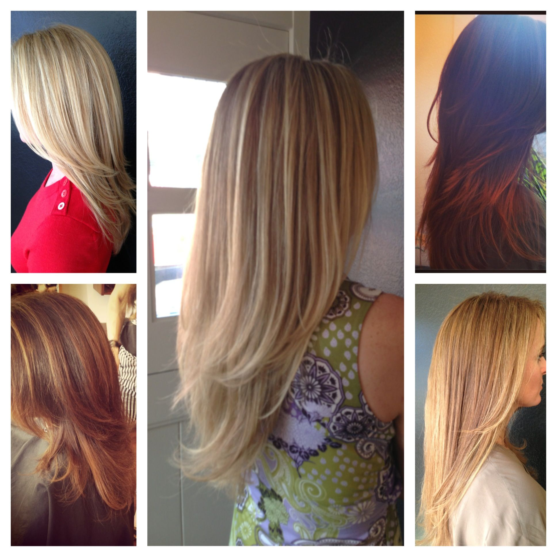 Long hair- Great pic to show clients the different types ...