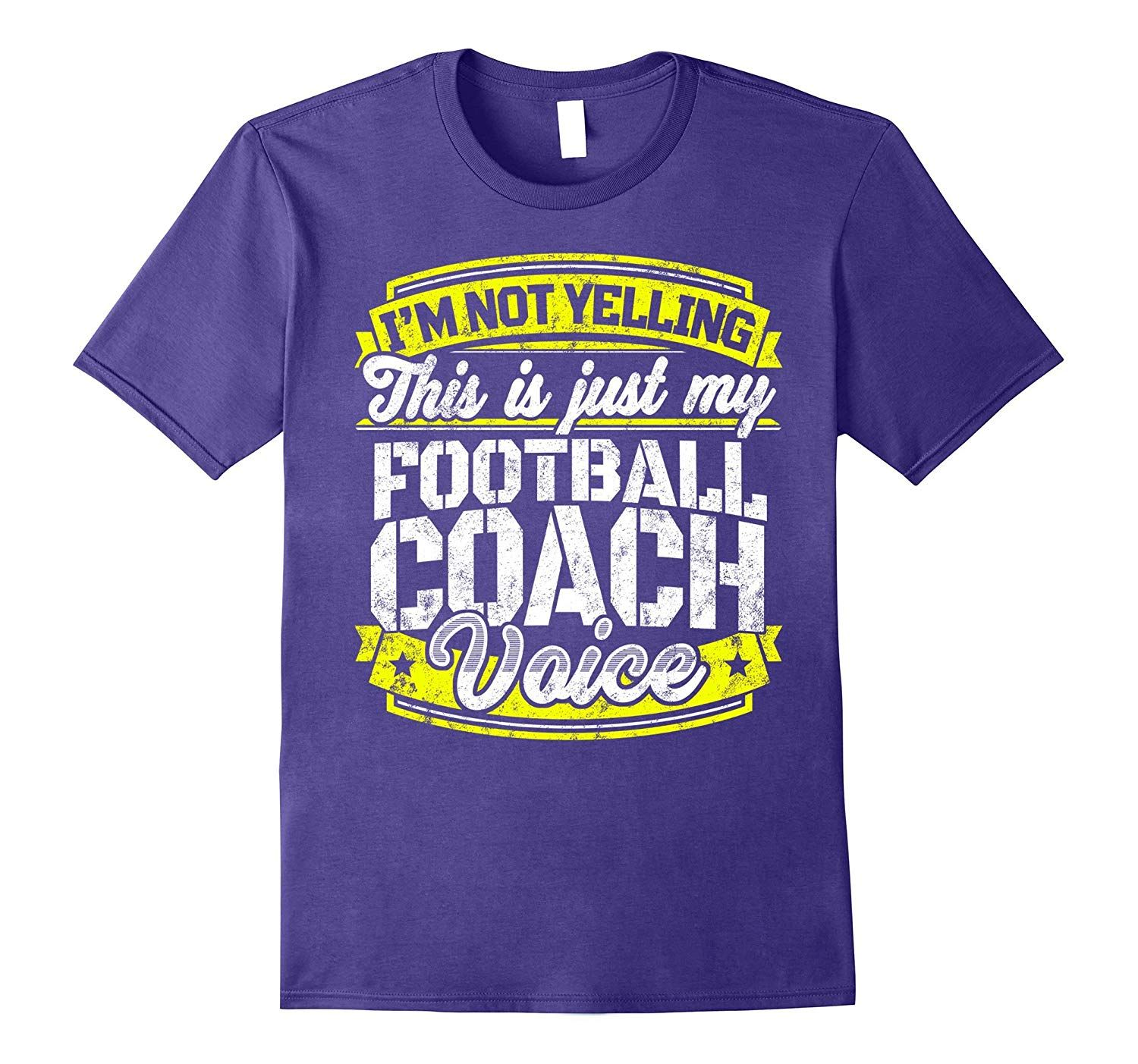 Funny Football Coach Shirt Football Coach Saying Voice Tee Th Funny Volleyball Shirts Funny Wrestling Basketball Funny