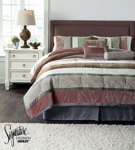 Jasie Comforter Set Bedding Set Ashley Furniture Comforter Sets King Comforter Sets Furniture