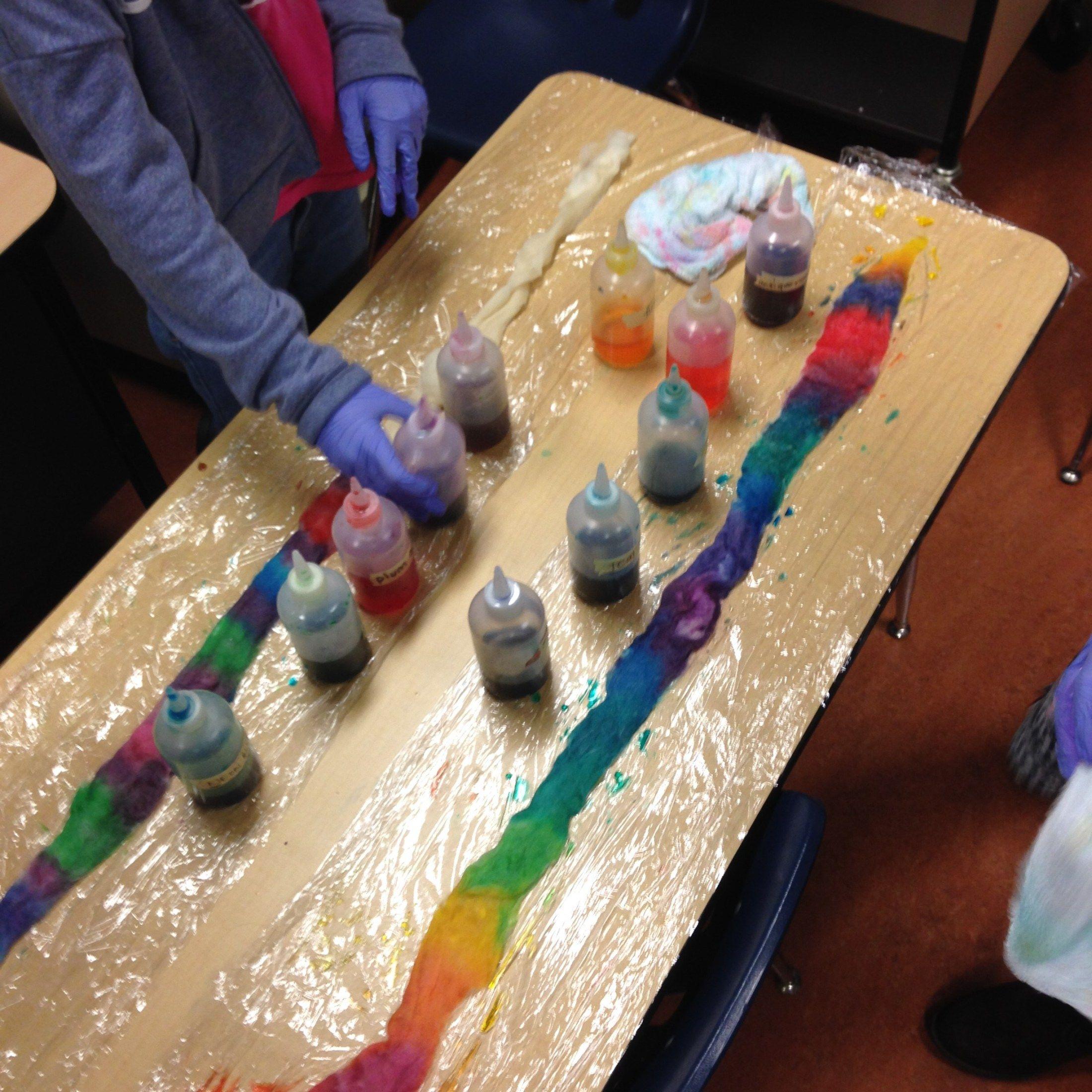 Dyeing Yarn & Roving with Food Coloring Becka Rahn