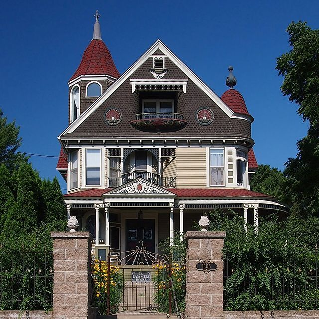 Albert Lammers House Built In 1893 Located At: 1306 3rd St
