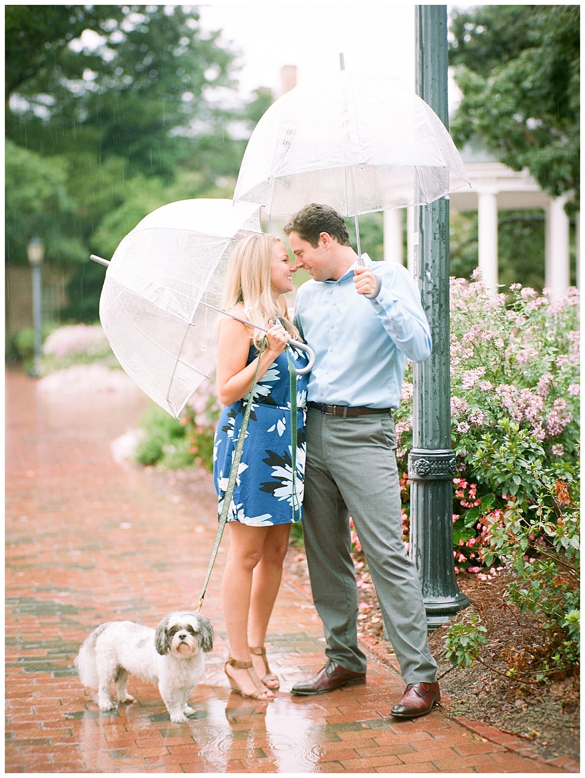 Drizzly Engagement Session At Unc Chapel Hill Nc Katherine Colby Unc Chapel Hill Engagement Session Photography Wedding Family
