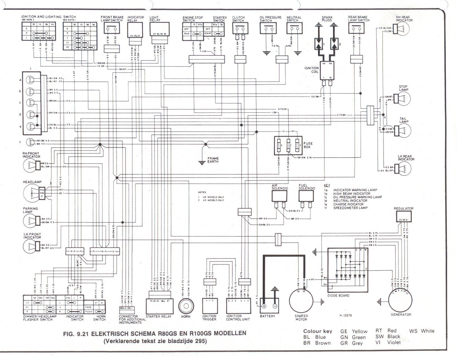 Bmw r1150r electrical wiring diagram #3 | Bmw | Electrical