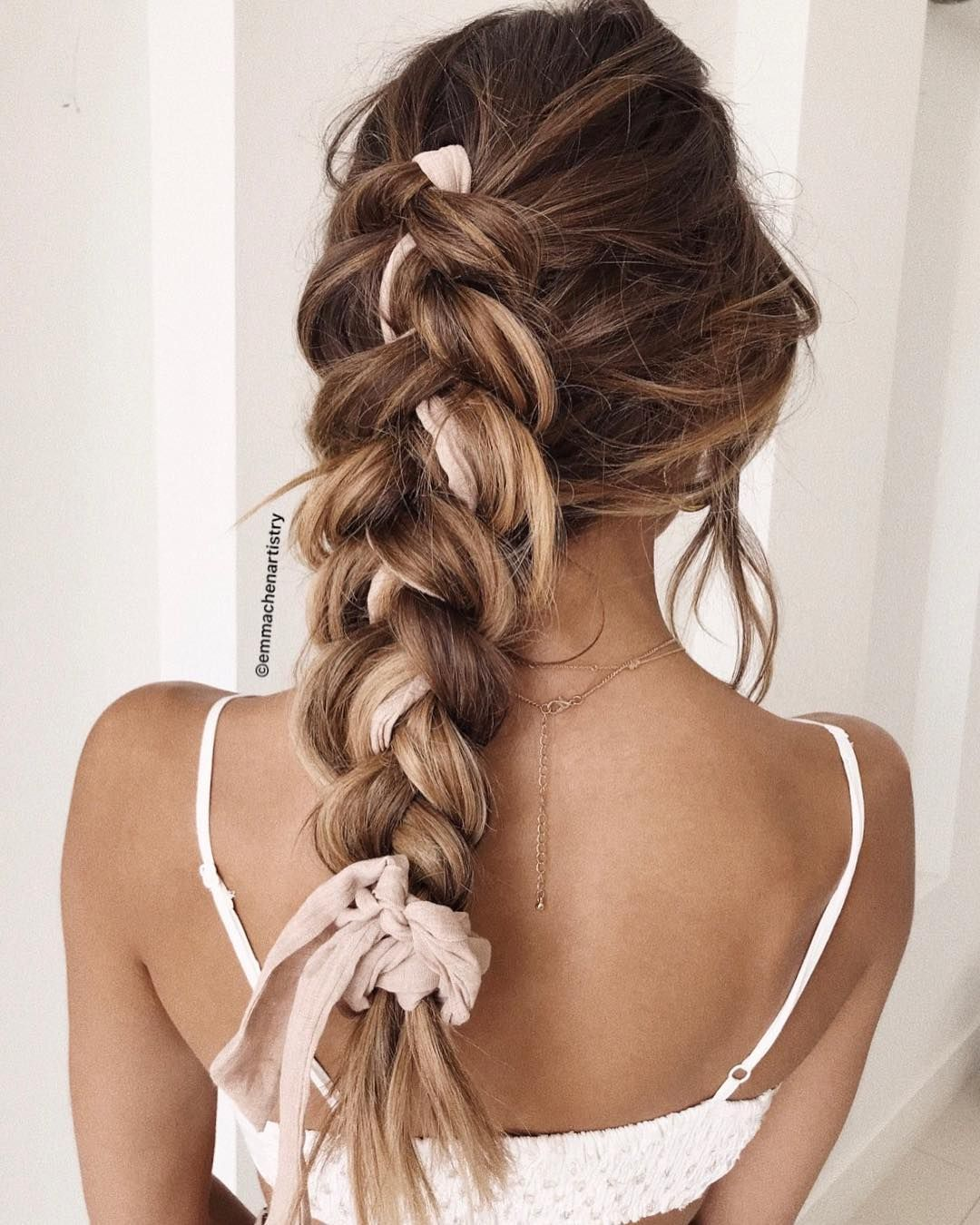 Simple braid hairstyle , updo hairstyle inspiration ,hairstyles ,updo ,messy updo