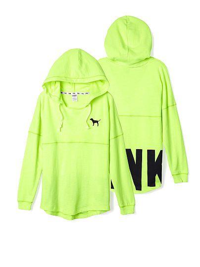 365f3dc5214 Varsity Hoodie - PINK - Victoria s Secret