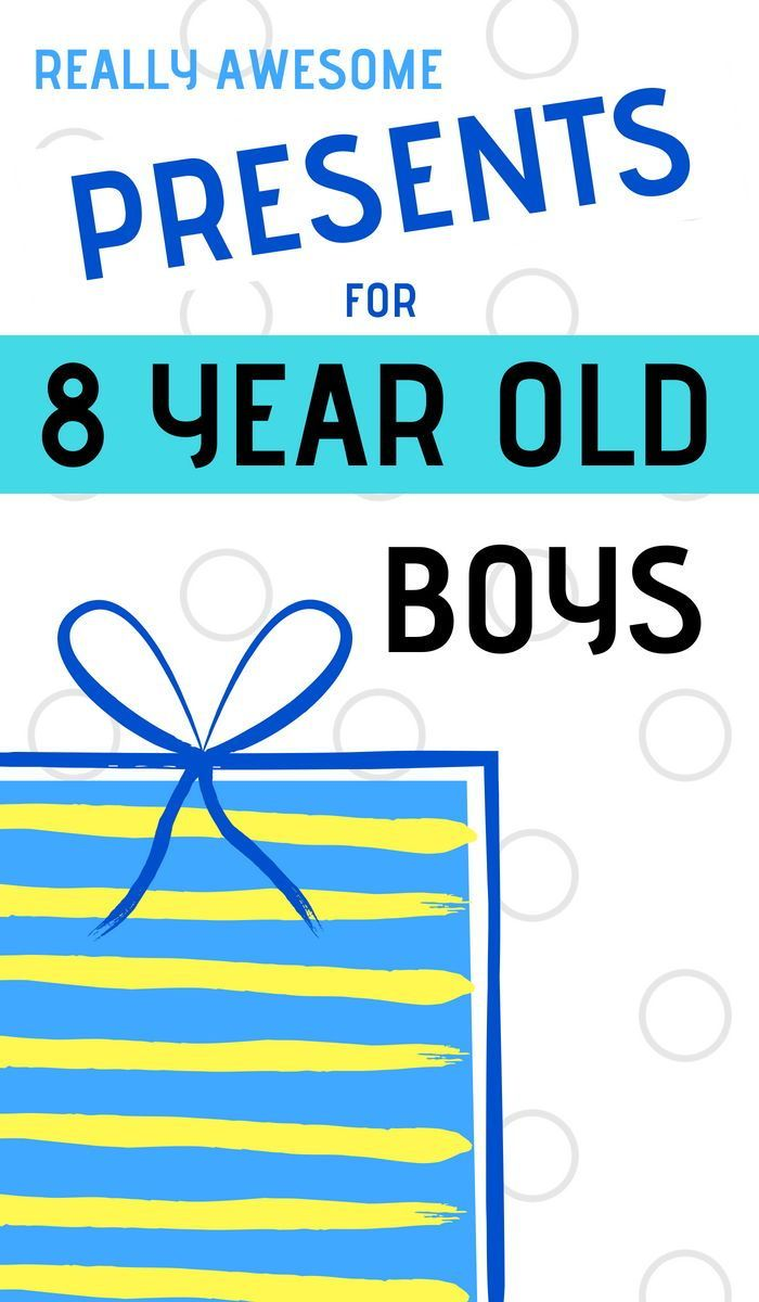 What Are The Best Presents To Buy 8 Year Old Boys For