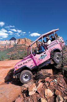 Perfect Pink Jeep Tours, Sedona, Arizona. A Must Do When You Go To Sedona!