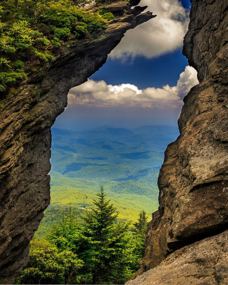 #nature #beautiful #scenery Grandfather Mountain North