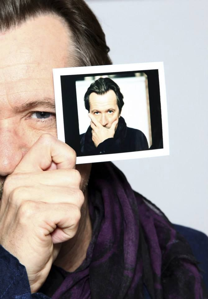 Gary Oldman photographed by Rob Greig