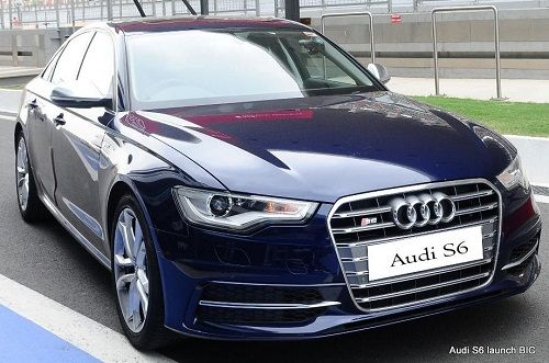 Audi S6 releases in india with a price of 86 lakhs... Its a luxury sporty car <3 Tremendous..