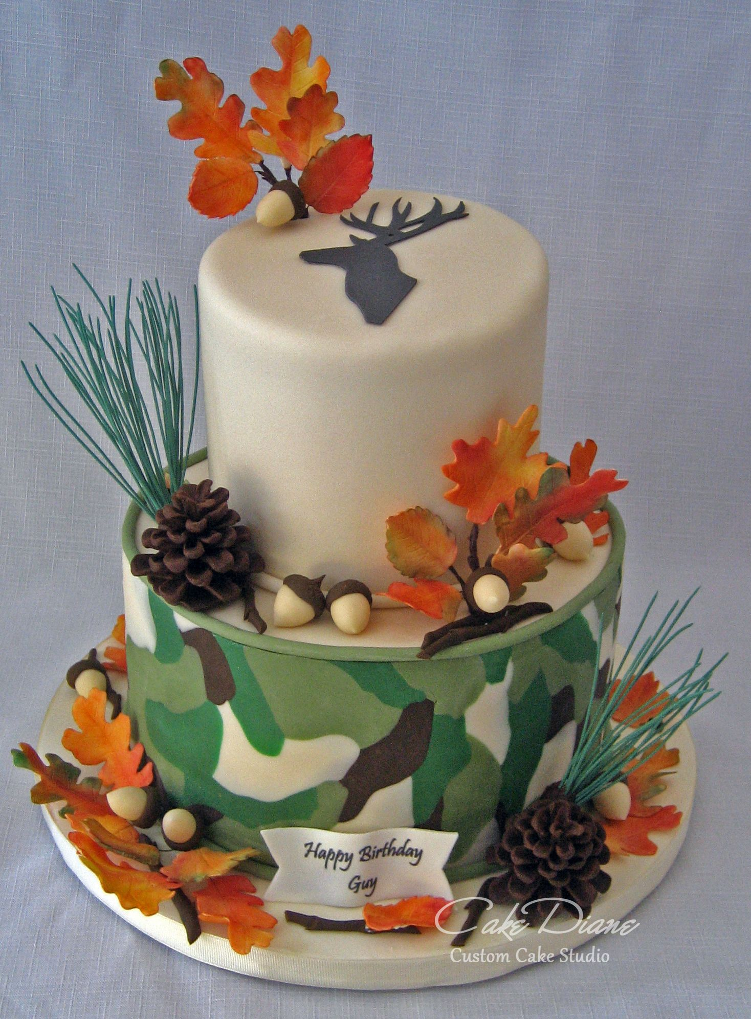Camo Deer Hunting Cake Adult Birthday Cakes In 2019