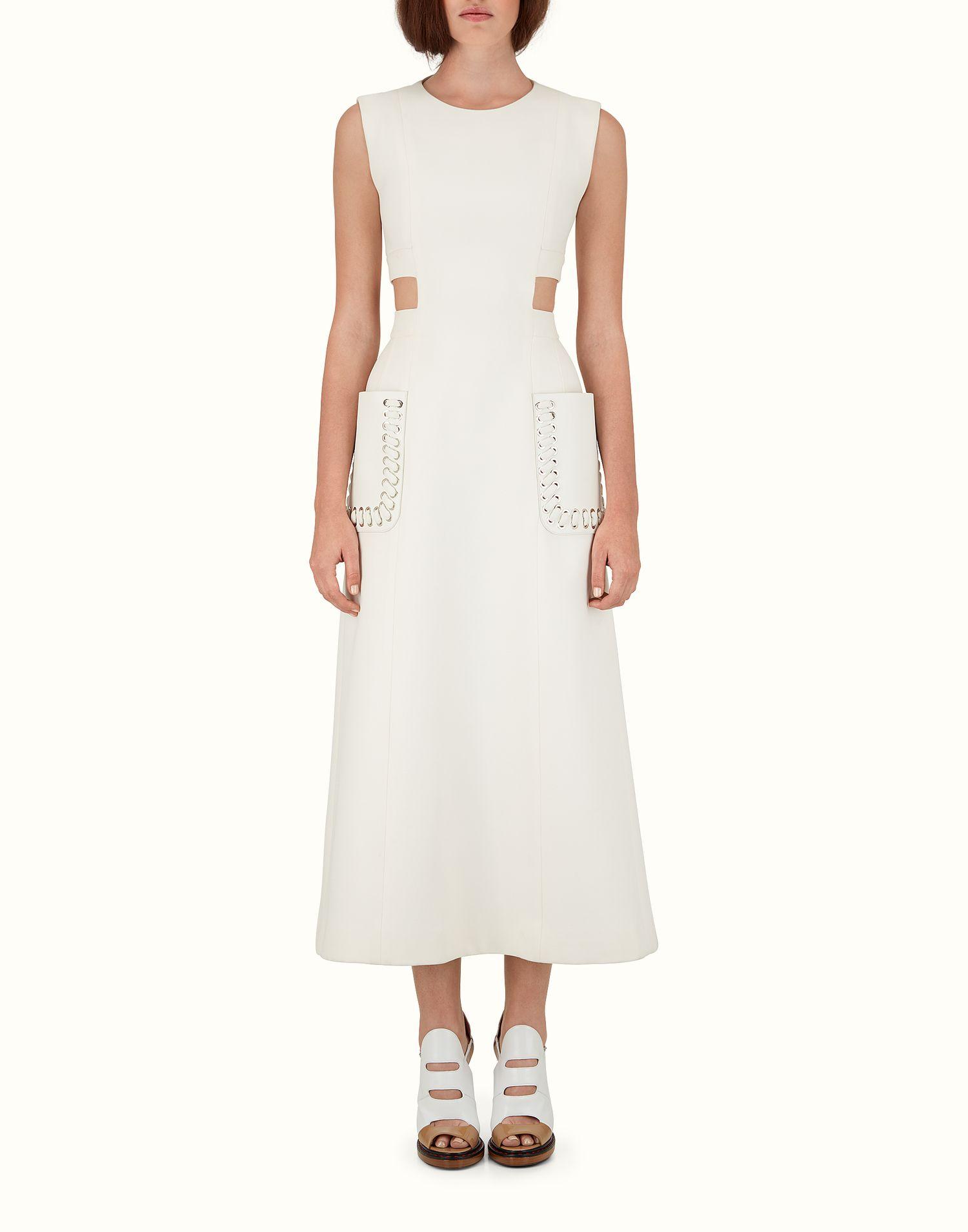 Long Dress Fd900846rf0znm Dresses Long Dress White Dress [ 1910 x 1500 Pixel ]