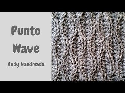 Punto Wave O Punto Onda Uncinetto Facile Easy Crochet Youtube